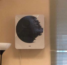 Монтаж бризера TION 3c в офисном помещении