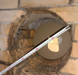 Алмазное бурение кирпичного здания под вытяжную вентиляцию диаметром 350мм для прокладки железного воздуховода  диаметром  315(ММ)