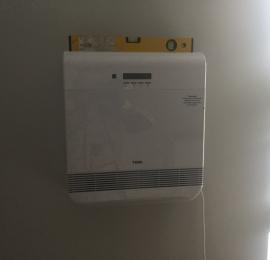 Монтаж ТИОН О2 по готовому ремонту в панельном доме