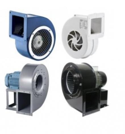 Радиальные полупромышленные вентиляторы