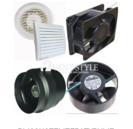 Высокотемпературные жаростойкие вентиляторы