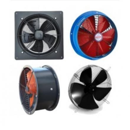 Осевые промышленные и полупромышленные вентиляторы