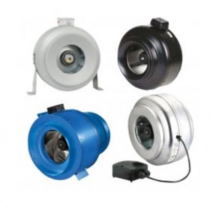Канальные полупромышленные и промышленные вентиляторы