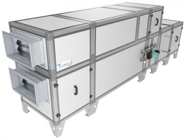 Breezart  2000 Aqua RP PB |  Breezart |  Приточно-вытяжная установка с фреоновым охладителем