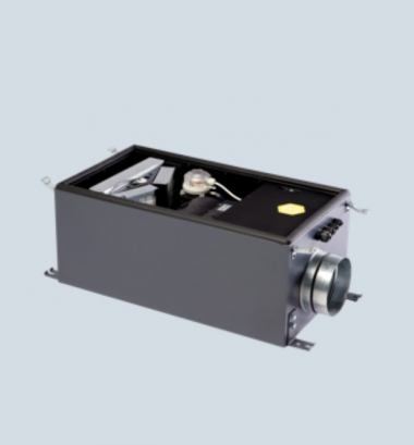 Minibox.Е-650-1/5kW/G4/ арт.E650, E651 Канальная установка с электрическим нагревом