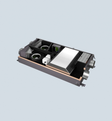 Minibox.Save-350 Канальная установка с противоточным пластинчатым рекуператором